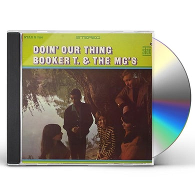 Booker T. & the M.G.'s DOIN OUR THING CD