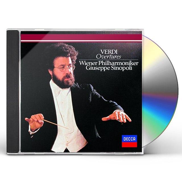 Giuseppe Sinopoli VERDI: OVERTURES CD