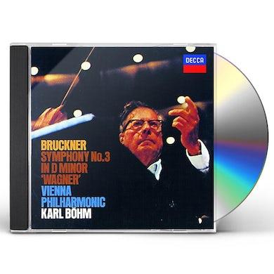 Karl Bohm BRUCKNER: SYMPHONY NO.3 CD