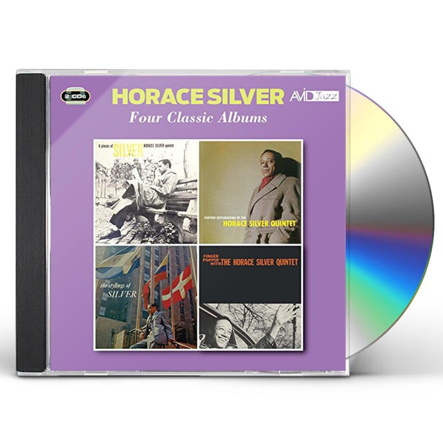Horace Silver FURTHER EXPLORATIONS / STYLINGS OF SILVER CD