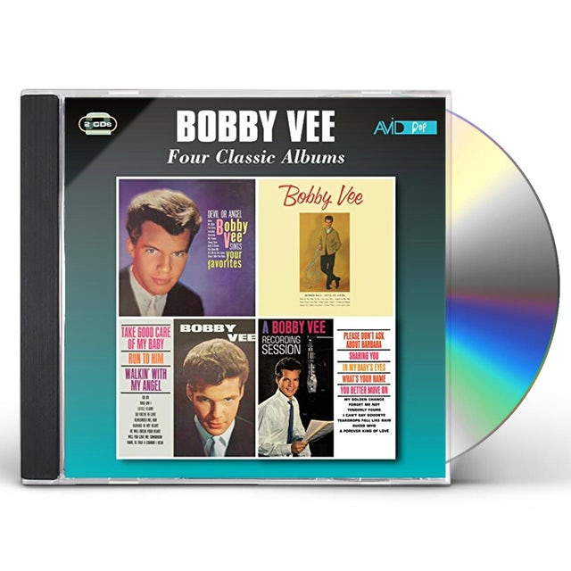 Bobby Vee SINGS YOUR FAVORITES / TAKE GOOD CARE OF MY BABY CD