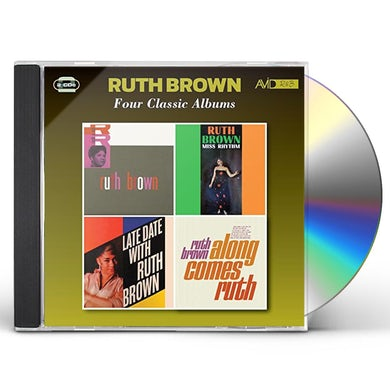 Ruth Brown MISS RHYTHM / LATE DATE / ALONG COMES RUTH CD