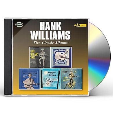 Hank Williams MOANIN THE BLUES / HONKY TONKIN / RAMBLIN MAN CD