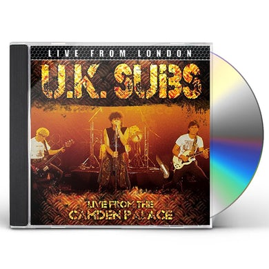 U.K. Subs LIVE FROM LONDON CD