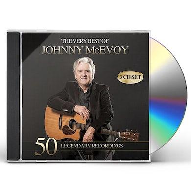 Johnny McEvoy VERY BEST OF 50 LEGENDARY RECORDINGS CD