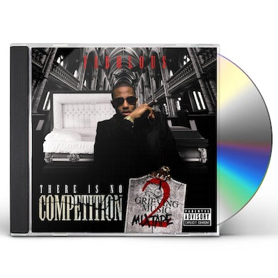 Fabolous THERE IS NO COMPETITION 2: GRIEVING MUSIC MIXTAPE CD
