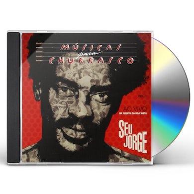 Seu Jorge MUSICAS PARA CHURRASCO 1: AO VIVO CD