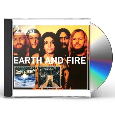 Earth & Fire TO THE WORLD OF THE FUTURE / GATE TO INFINITY CD