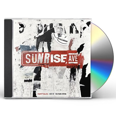 Sunrise Avenue FAIRYTALES: BEST OF 10 YEARS EDITION CD