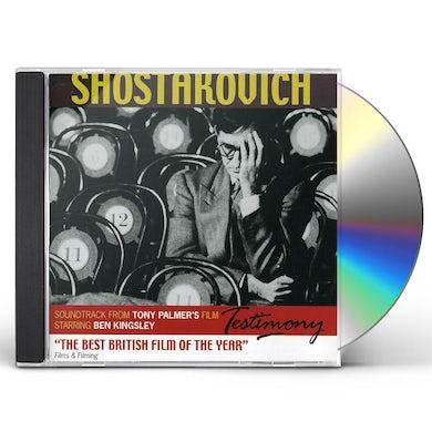 TESTIMONY: THE STORY OF SHOSTAKOVICH CD