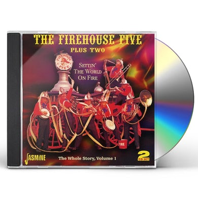 Firehouse Five Plus Two SETTIN THE WORLD ONE FIRE: WHOLE STORY 1 CD