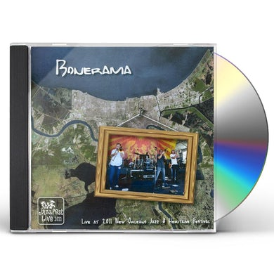 Bonerama LIVE AT JAZZ FEST 2011 CD