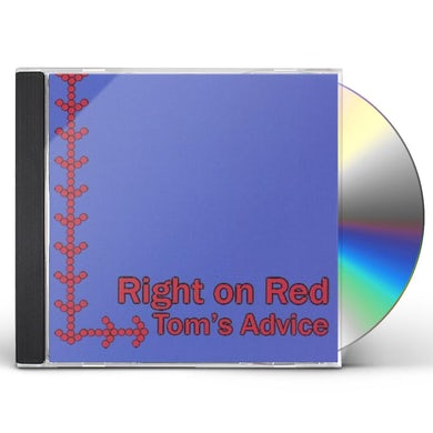 Right On Red TOM'S ADVICE CD