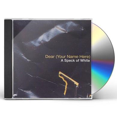 dear SPECK OF WHITE CD