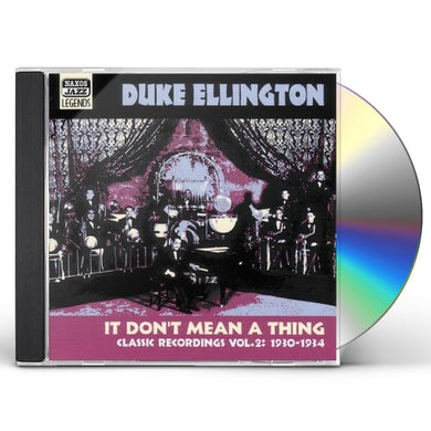 Duke Ellington VOL. 2-IT DON'T MEAN A THING CD