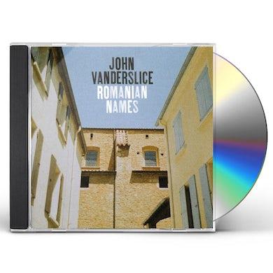John Vanderslice ROMANIAN NAMES CD