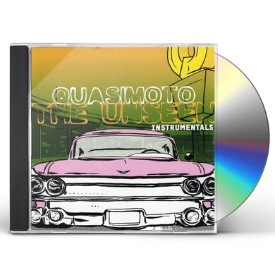 Quasimoto UNSEEN (INSTRUMENTALS) CD