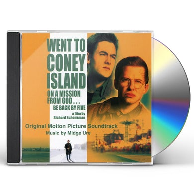 Midge Ure WENT TO CONEY ISLAND ON MISSION FROM GOD - Original Soundtrack CD