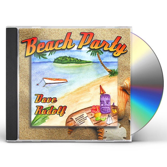 Dave Rudolf BEACH PARTY CD