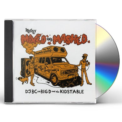 Big D & Kids Table STRICTLY MIXED & MASHED CD