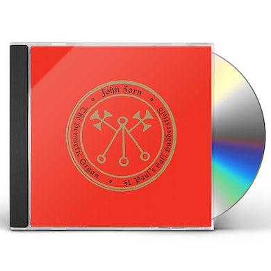 John Zorn HERMETIC ORGAN 3: PAULOS HALL HUDDERSFIELD CD