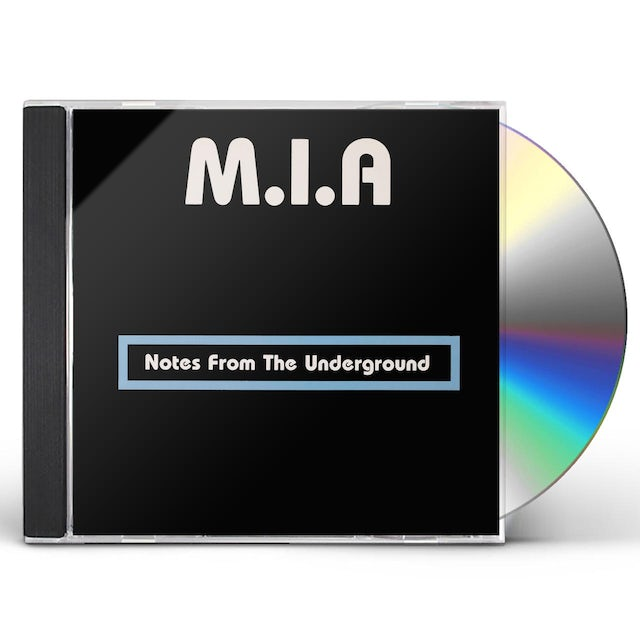 M.I.A NOTES FROM THE UNDERGROUND CD