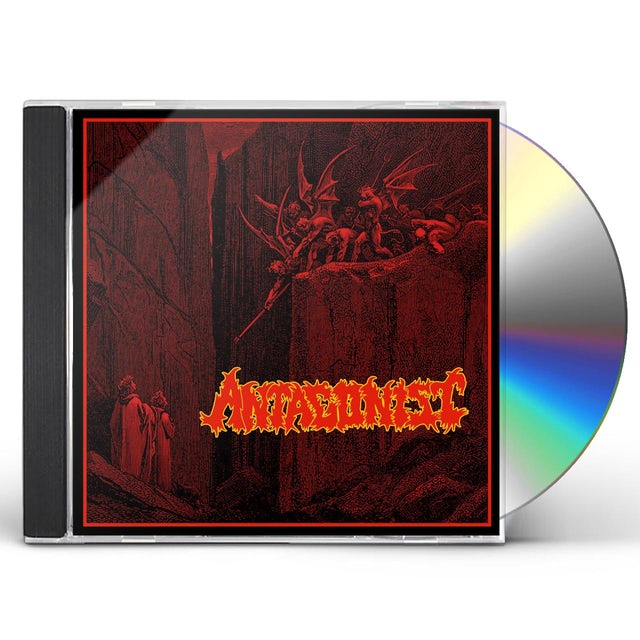 Antagonist DAMNED & CURSED TO LIFE ON EARTH CD