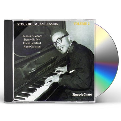 Phineas Newborn STOCKHOLM JAM SESSION 2 CD