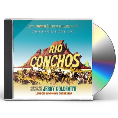 Jerry Goldsmith RIO CONCHOS CD
