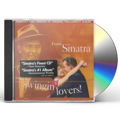 Frank Sinatra SONGS FOR SWINGIN LOVERS CD
