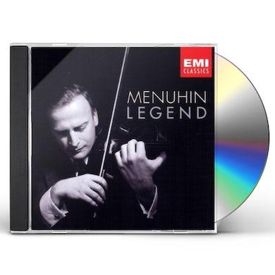 Yehudi Menuhin LEGEND CD