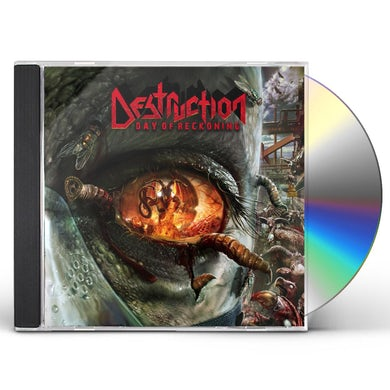 Destruction DAY OF RECKONING CD