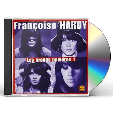 Françoise Hardy GRANDS NUMERO 1 CD
