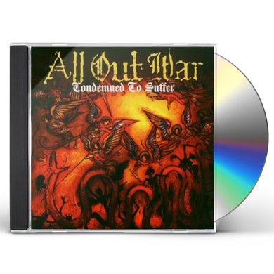 All Out War CONDEMNED TO SUFFER CD