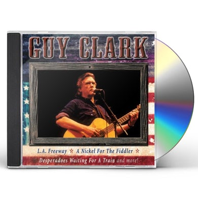 Guy Clark ALL AMERICAN COUNTRY CD