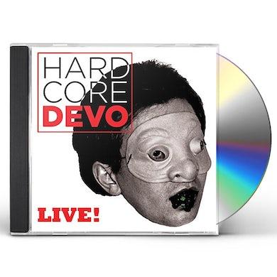 Devo HARDCORE LIVE CD