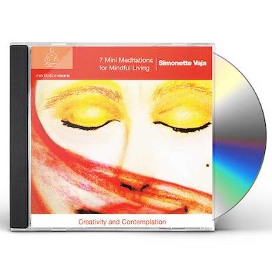 Simonette Vaja 7 MINI MEDITATIONS FOR MINDFUL LIVING CD