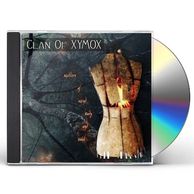 Clan Of Xymox MATTERS OF MIND BODY & SOUL CD