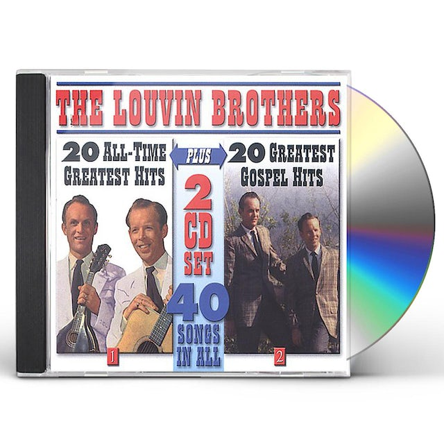 Louvin Brothers 40 SONGS CD