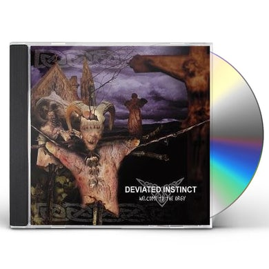 Deviated Instinct WELCOME TO THE ORGY CD