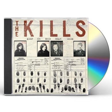 The Kills KEEP ON YOUR MEAN SIDE CD
