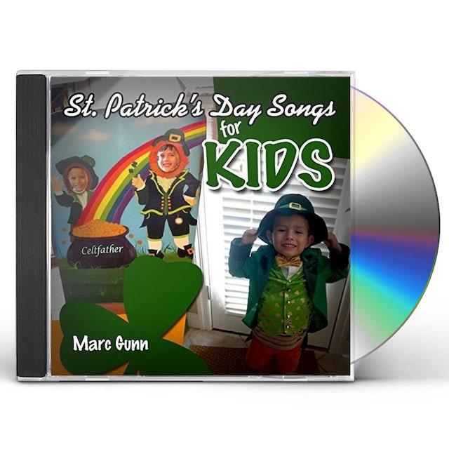 Marc Gunn ST PATRICK'S DAY SONGS FOR KIDS CD