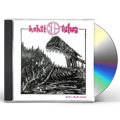 KOHTI TUHOA RUTIININ ORJA CD