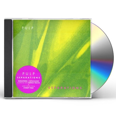 Pulp SEPARATIONS CD