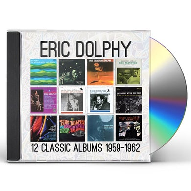 Eric Dolphy TWELVE CLASSIC ALBUMS: 1959-1962 CD