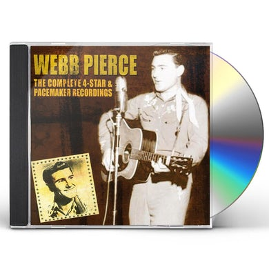 Webb Pierce COMPLETE 4 STAR & PACEMAKER RECORDINGS CD