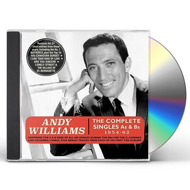 Andy Williams COMPLETE SINGLES AS & BS 1954-62 CD