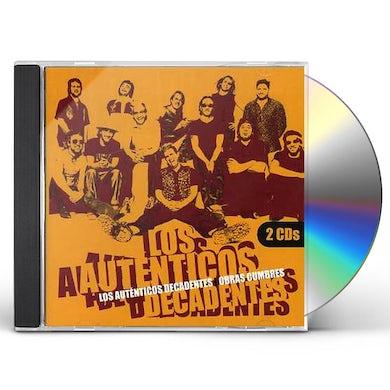 Los Autenticos Decadentes OBRAS CUMBRES CD