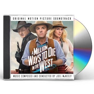Joel McNeely MILLION WAYS TO DIE IN THE WEST / Original Soundtrack CD