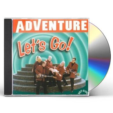 Adventure LET'S GO ! CD